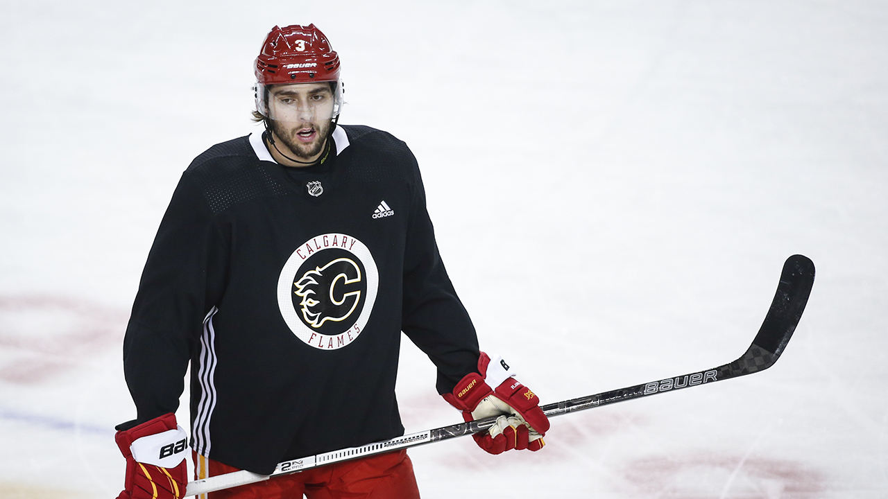 Peter Loubardias: Flames' rookie camp and their blueline