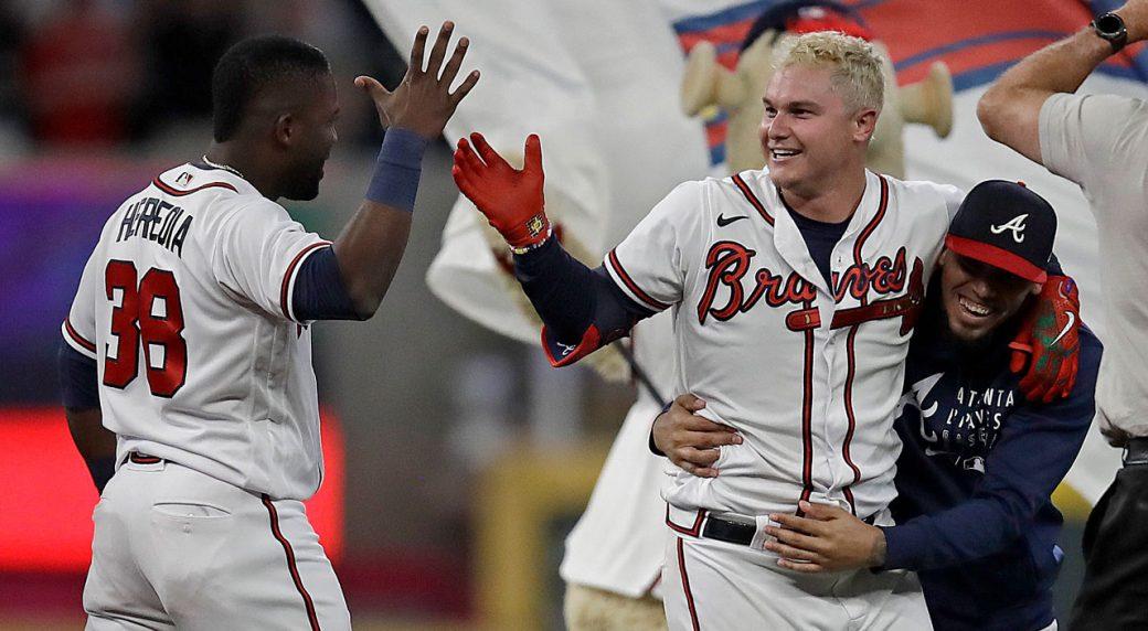 Joc Pederson gets key hit as Braves beat Nationals in 10