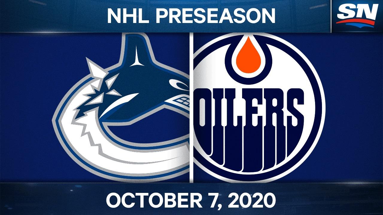 Lo más destacado de la pretemporada: Oilers 3, Canucks 2