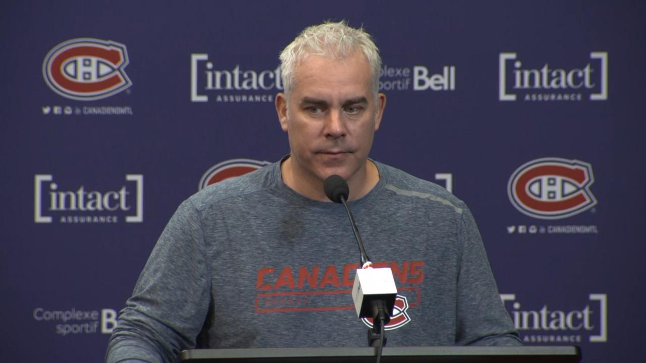 Ducharme says Canadiens are happy to have locked up Suzuki