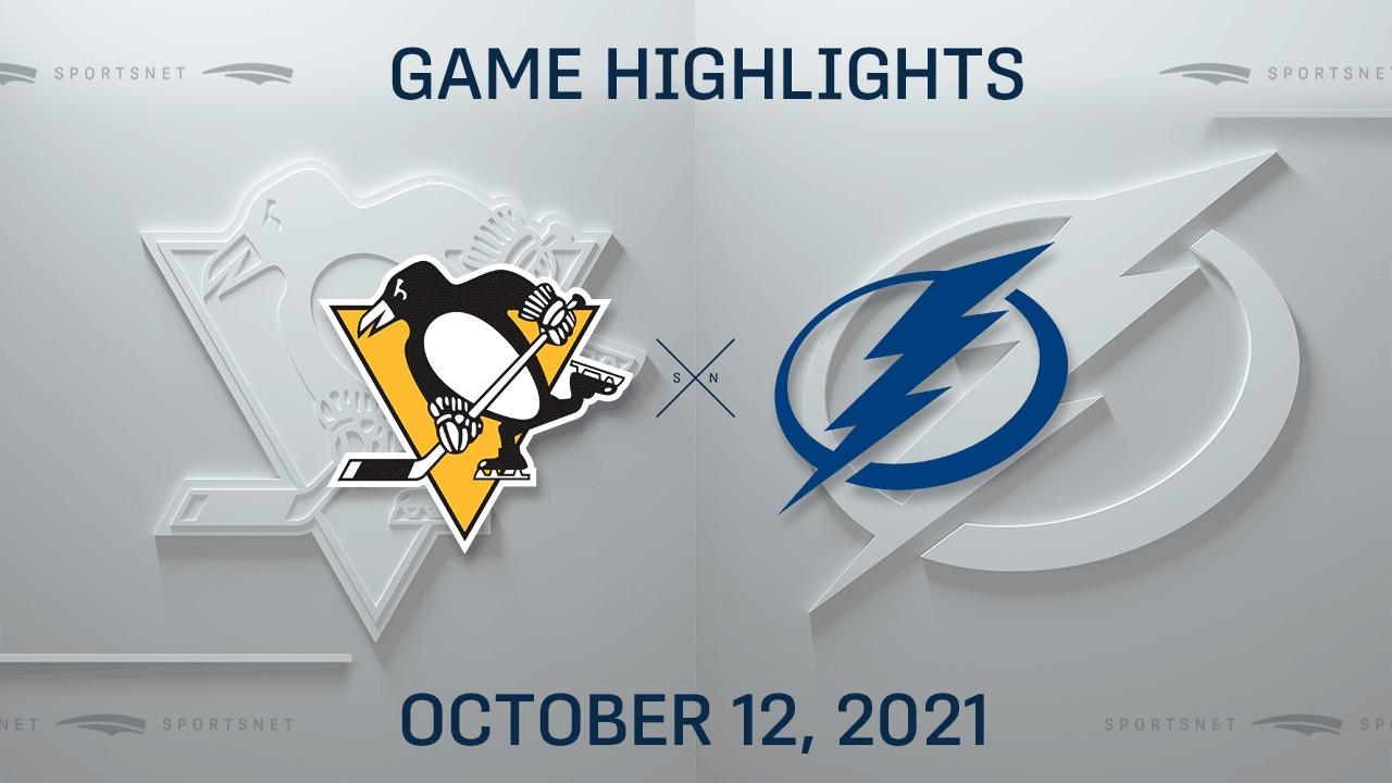 NHL Highlights: Penguins 6, Lightning 2