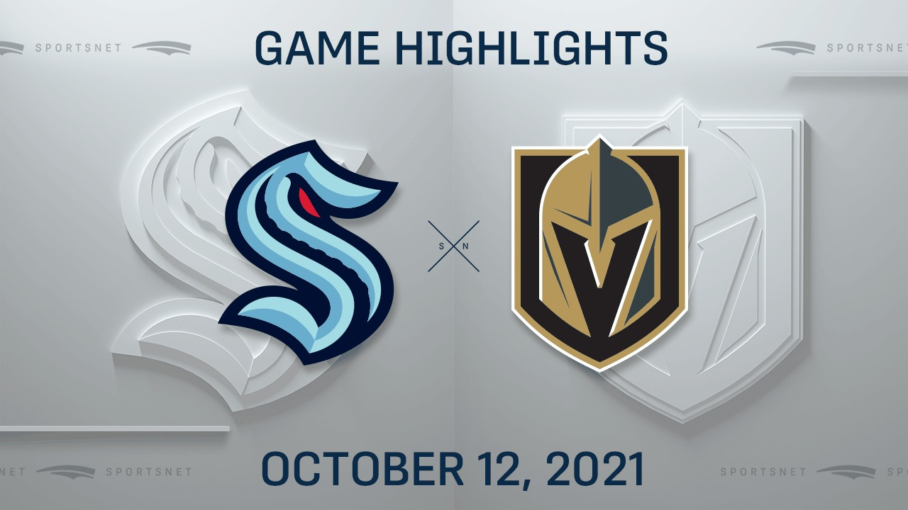 NHL Highlights: Golden Knights 4, Kraken 3