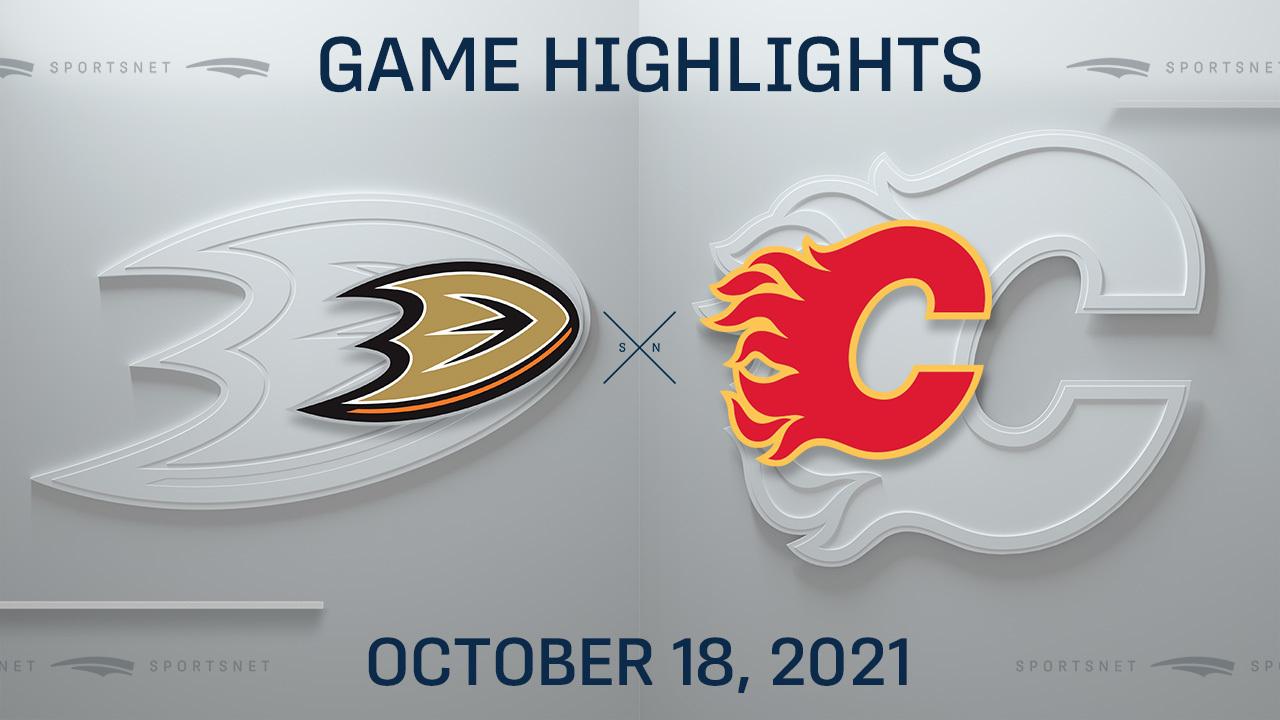 NHL Highlights: Ducks 3, Flames 2 (OT)