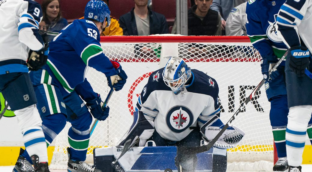 Horvat, Pearson put up two-point nights as Canucks edge Jets