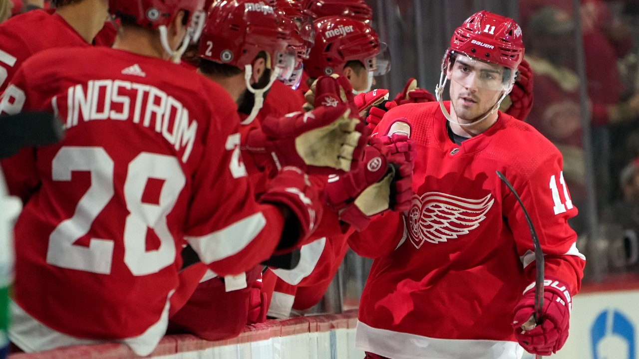 Max Bultman discusses the Red Wings' rebuild and expectations