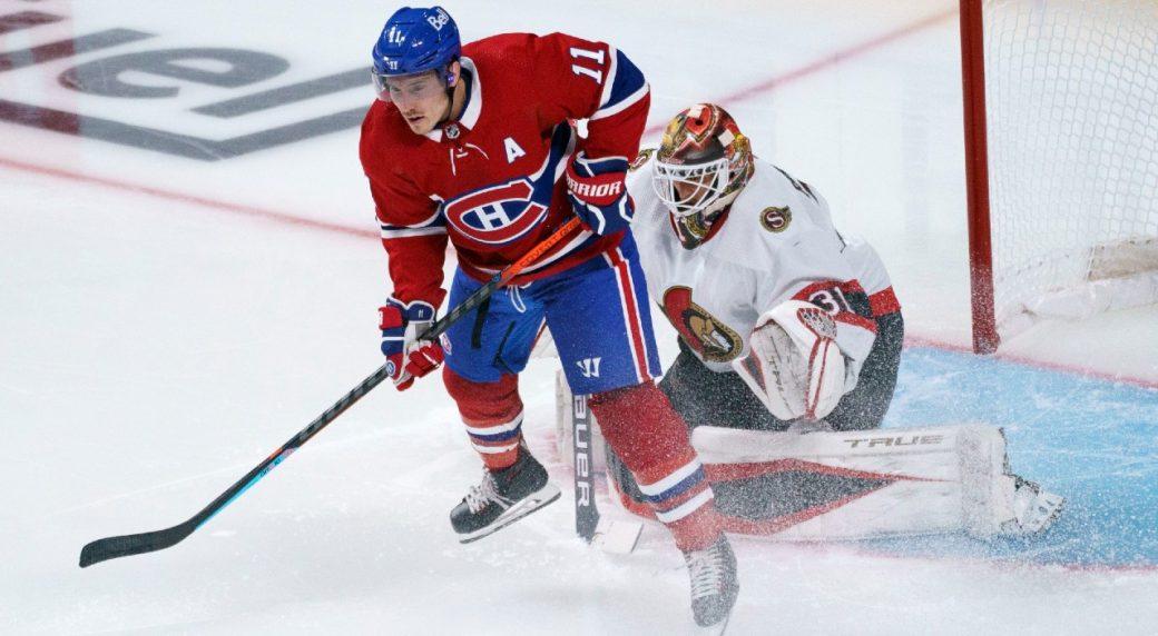 Gallagher, Suzuki score to lift Canadiens past Senators in pre-season