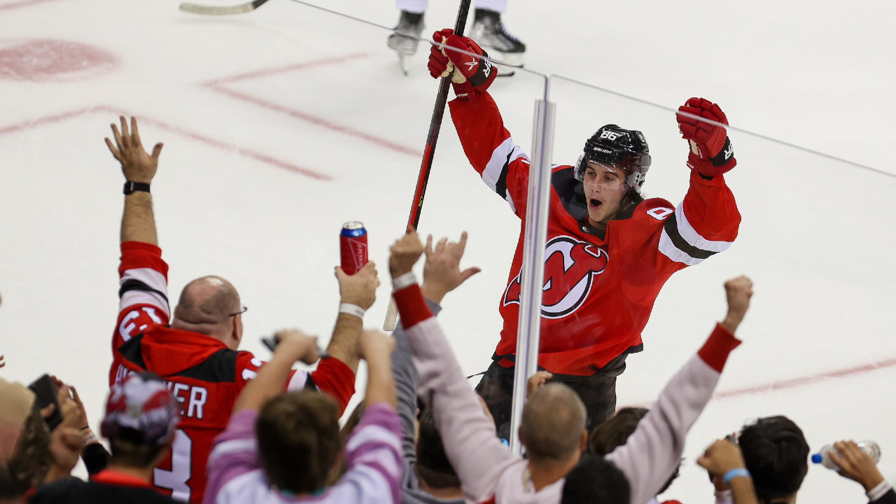 Devils' Jack Hughes has dislocated shoulder, won't need surgery at this time