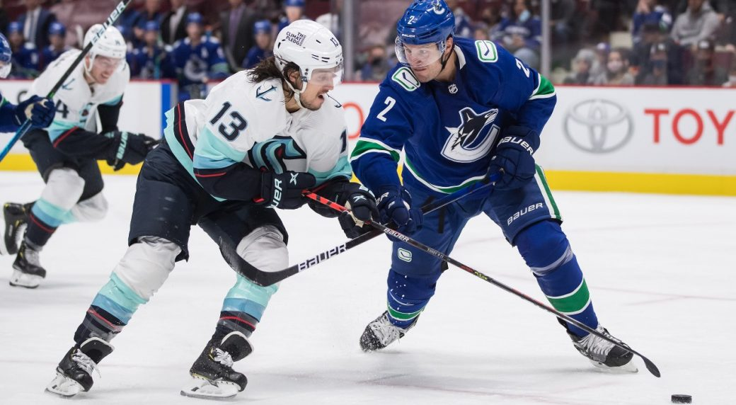 Kraken blank Canucks in Seattle's first visit to Vancouver