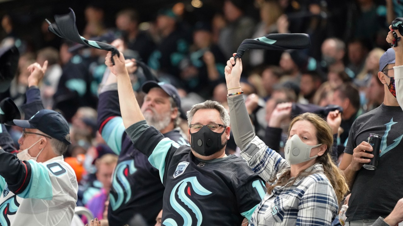 Seattle brings the noise as Kraken make memorable home debut vs. Canucks